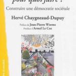 """""""Citoyen pour quoi faire ?"""", un livre enfin !"""